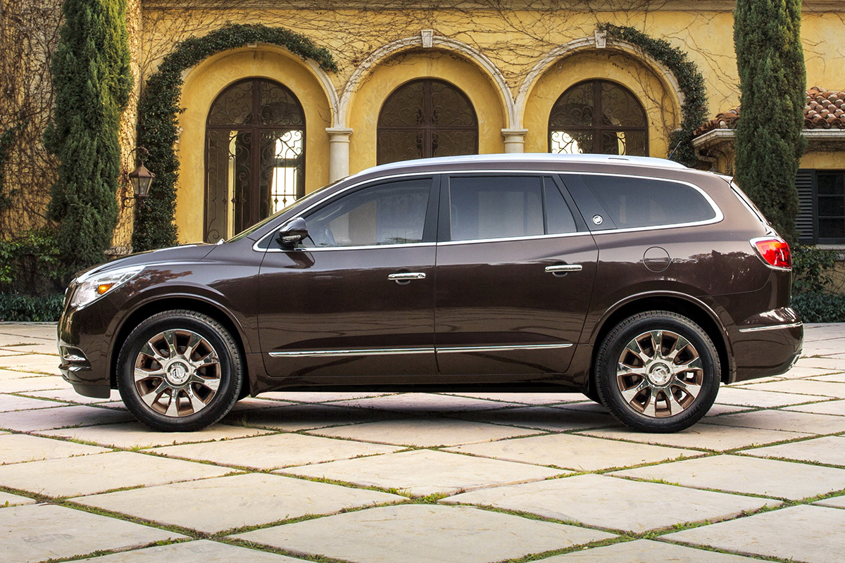 Buick Gets Bronzy With 2016 Enclave Tuscan Edition Carscoops