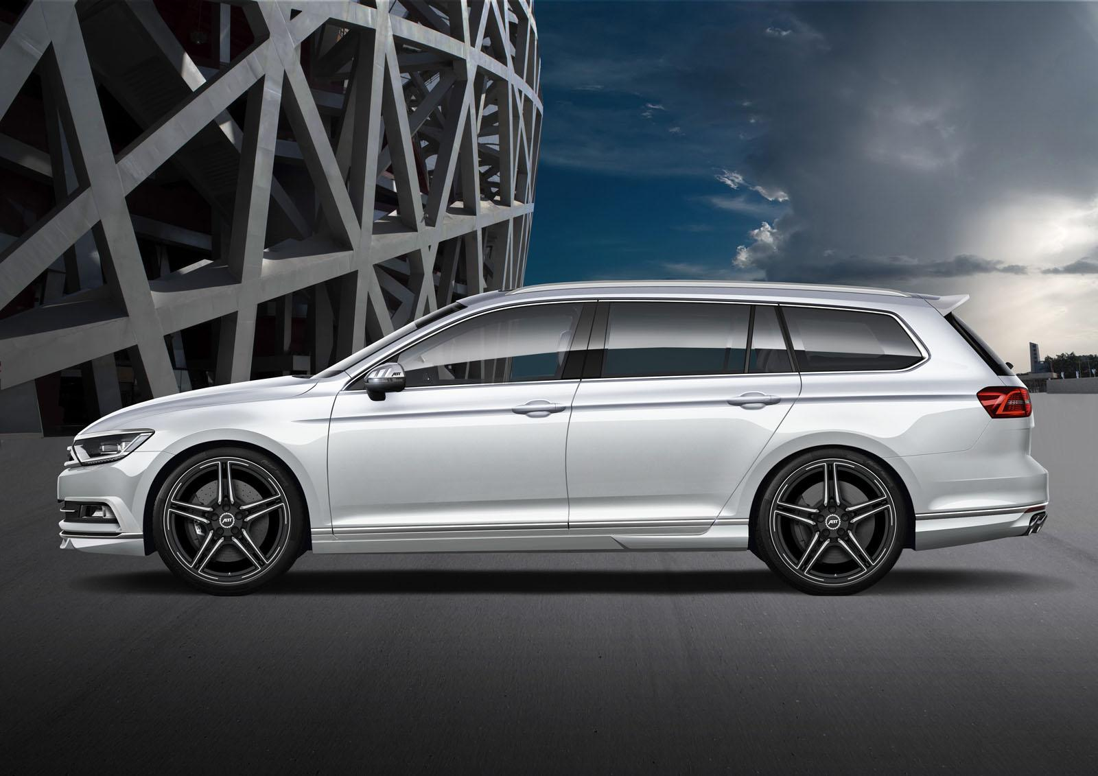 Abt Sportsline Boosts Vw Passat Biturbo Diesel To 280ps