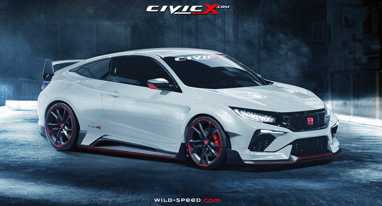 2017 Honda Civic Coupe Type R Carscoops
