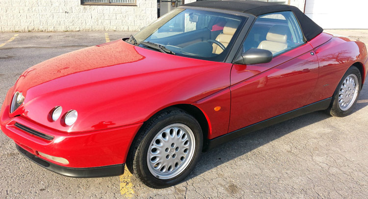 Snazzy Alfa Romeo Spider For Sale In New York Carscoops - 1993 alfa romeo spider for sale