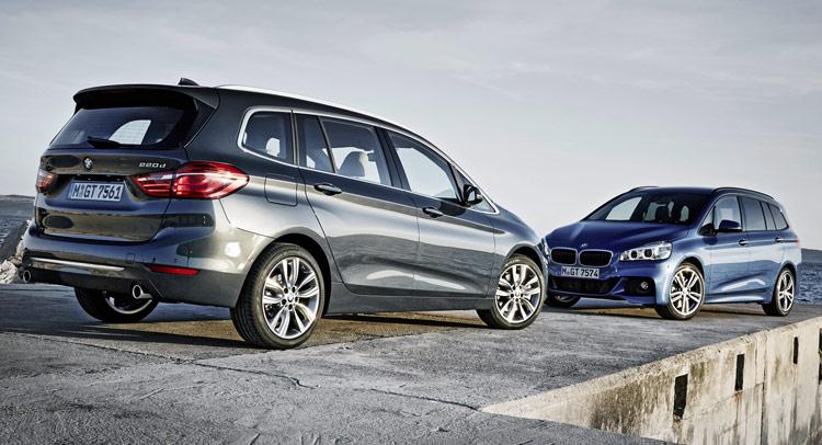 BMW Parades New Series Gran Tourer Minivan In Photos Carscoops - Bmw 2 series gt