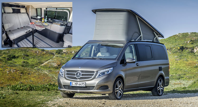 d4f21d4b43 Here s Your Super Gallery Of Mercedes-Benz s New V-Class Marco Polo Camper
