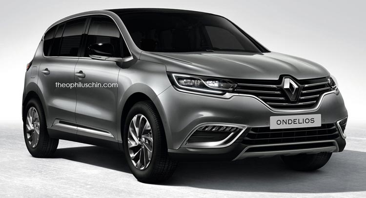 Renault's Upcoming 7-Seat SUV Rendered with Espace Cues | Carscoops