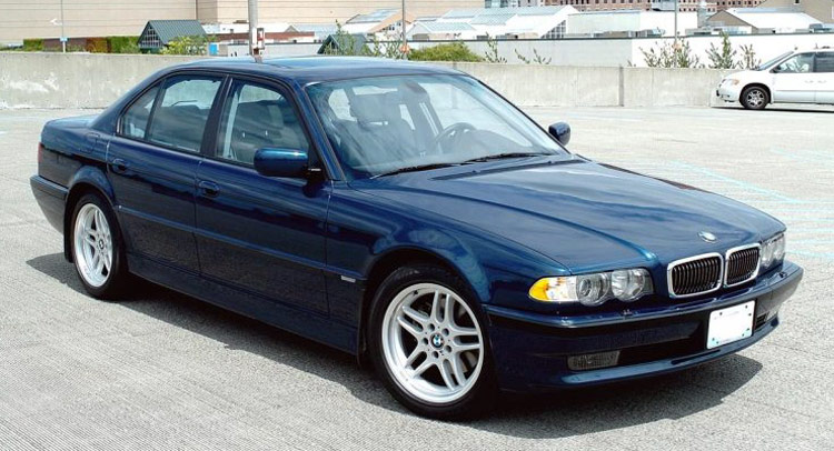 Heres A Fine Example Of Bmws Prettiest 7 Series Ever A 2001 740i