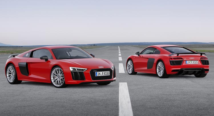 Audi R Gets A Starting Price Of In Germany Carscoops - Price of audi r8