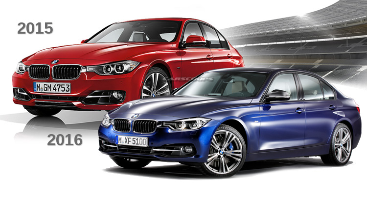 how much has the facelift changed the bmw 3 series. Black Bedroom Furniture Sets. Home Design Ideas