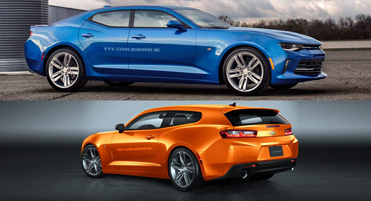 What About A 2016 Camaro Rs Shooting Brake Or Four Door Coupe