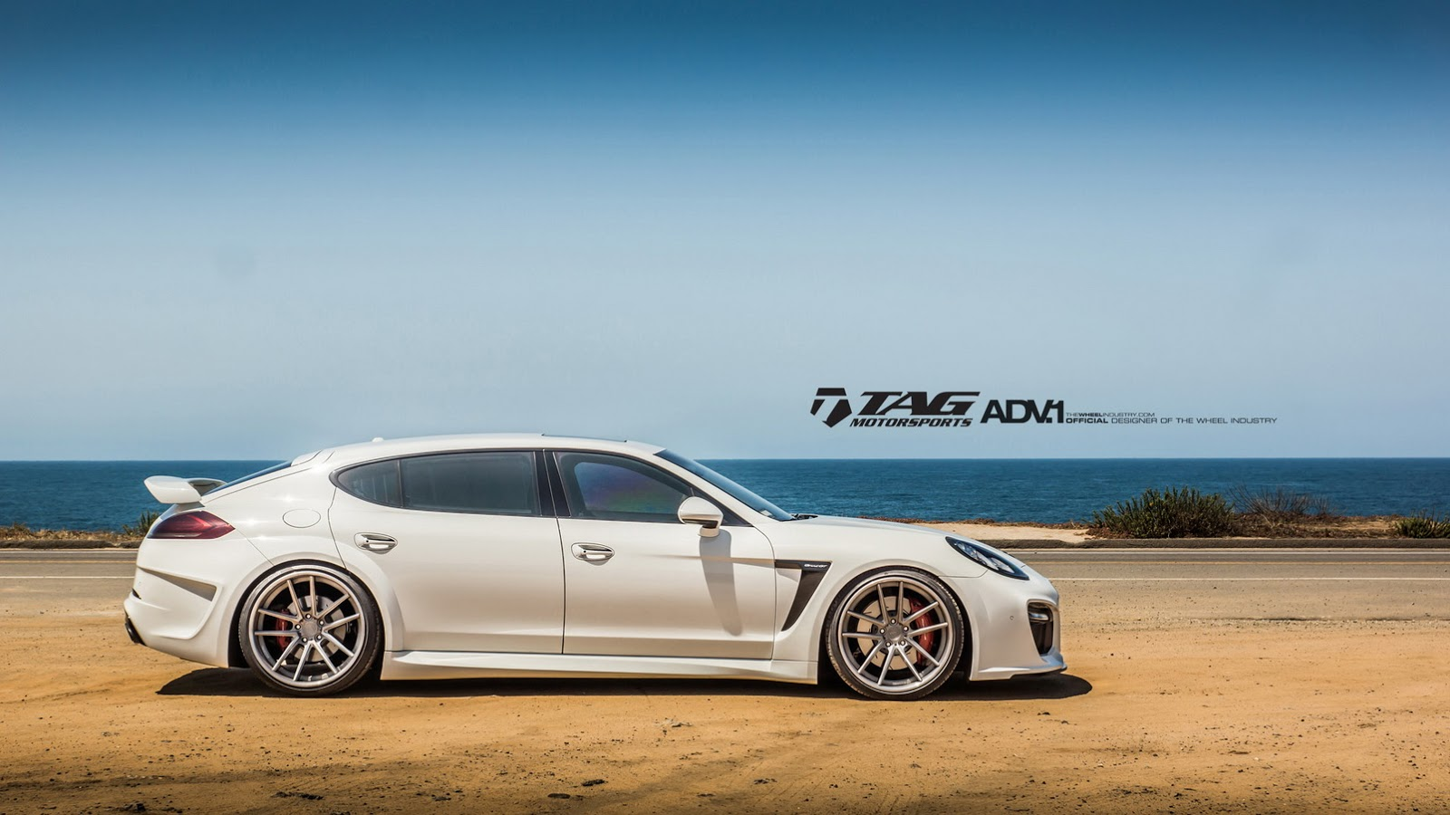 White TechArt GrandGT Looks Devastatingly Awesome On 22s