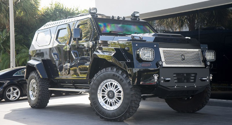 Military-Derived Conquest Knight XV Will Cost You A Cool $800k ...