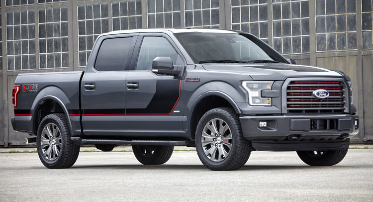 Ford Truck Models  Ford F  Gets New Special Edition Appearance Packages