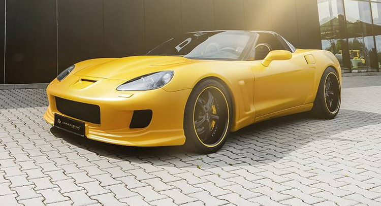 Yellow Line Corvette C6 By Carlex Design Comes With 1 100 Hp