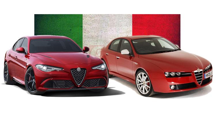Does New Alfa Romeo Giulia Represent Design Progress Over The 159 Carscoops