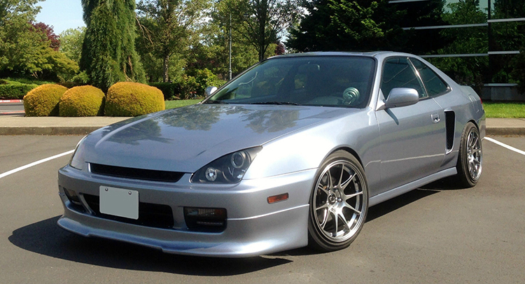 guy tries to sell a honda prelude with two engines carscoops