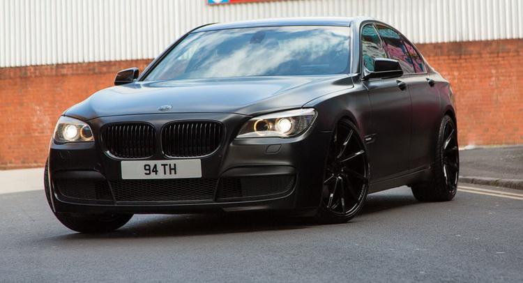 Matte Black BMW >> Matte Black Bmw 7 Series Bimmer Knows How To Attract