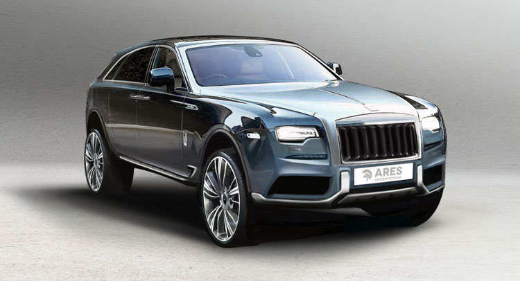 What The Rolls Royce Suv Could Look Like If Styled Flamboyantly Carscoops