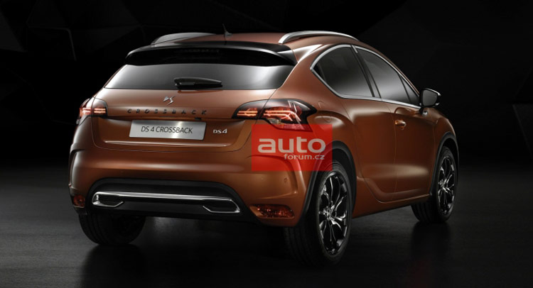 first photos of new ds4 crossback and ds4 facelift carscoops. Black Bedroom Furniture Sets. Home Design Ideas