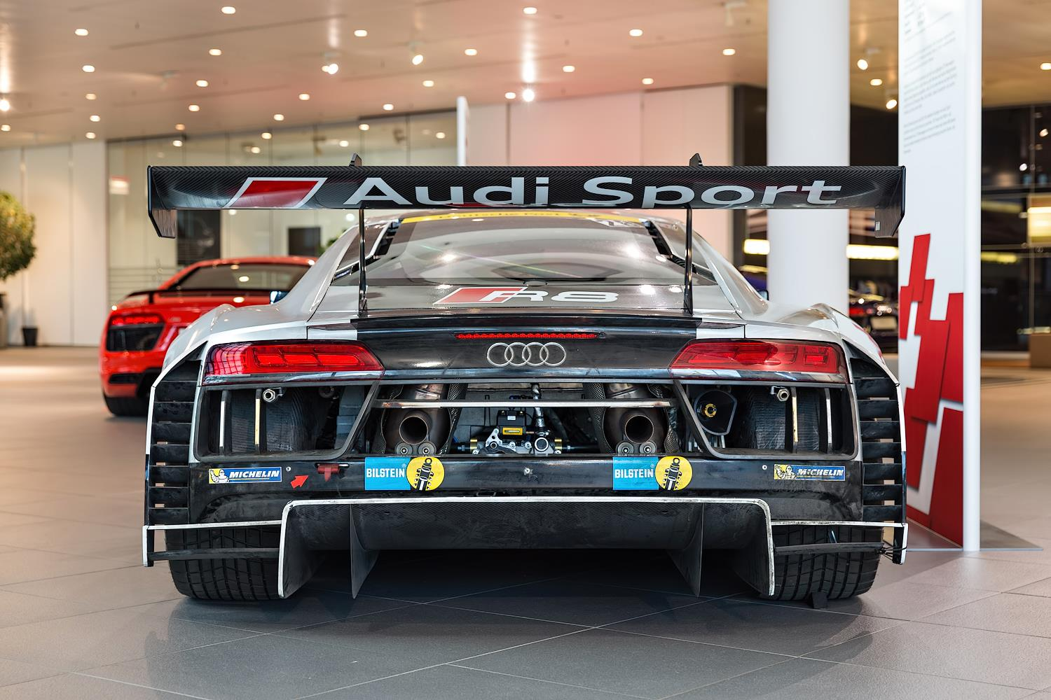 Audi R8 LMS GT3 Brings Thunder To Showroom Floor | Carscoops