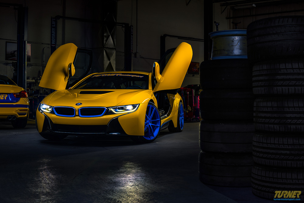 Colorful Modified Bmw I8 By Turner Motorsport Is Up For Sale Carscoops