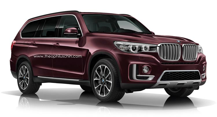 Bmw X7 Mega Suv Will Allegedly Be Inspired By Vision Future Luxury