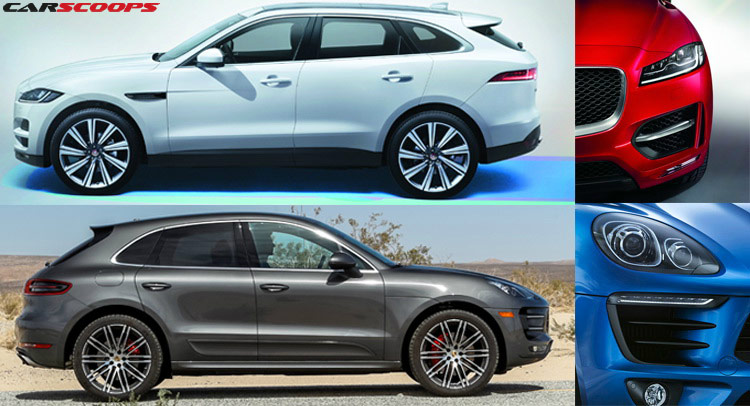 poll jaguar f pace or porsche macan carscoops. Black Bedroom Furniture Sets. Home Design Ideas