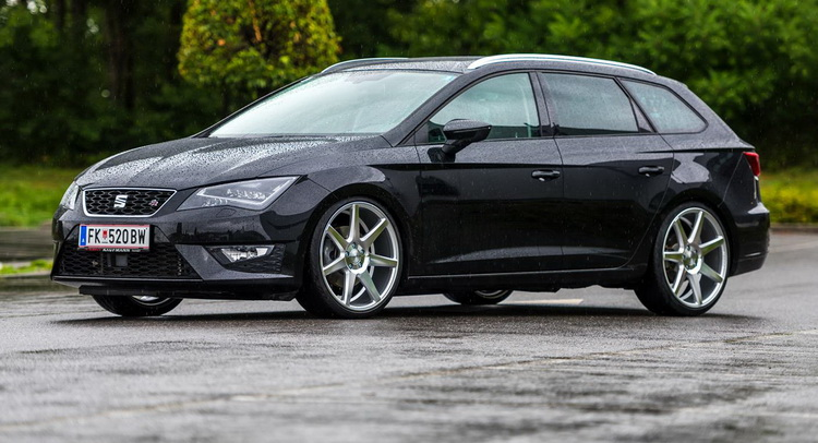 black seat leon st fr looks sharp on silver polish custom wheels carscoops. Black Bedroom Furniture Sets. Home Design Ideas