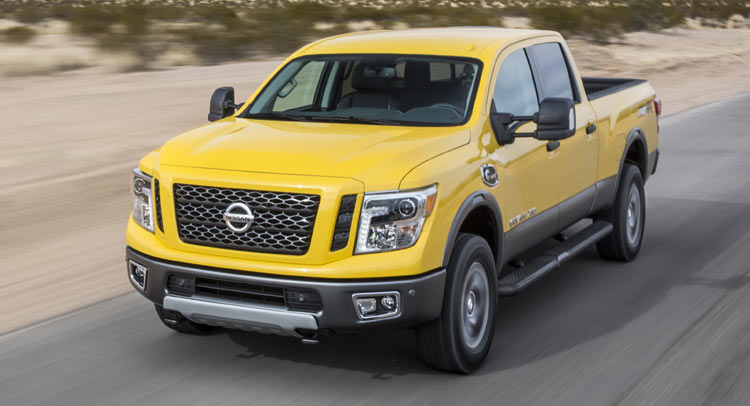 2016 nissan titan xd returns 17 7 mpg combined in independent testing carscoops. Black Bedroom Furniture Sets. Home Design Ideas