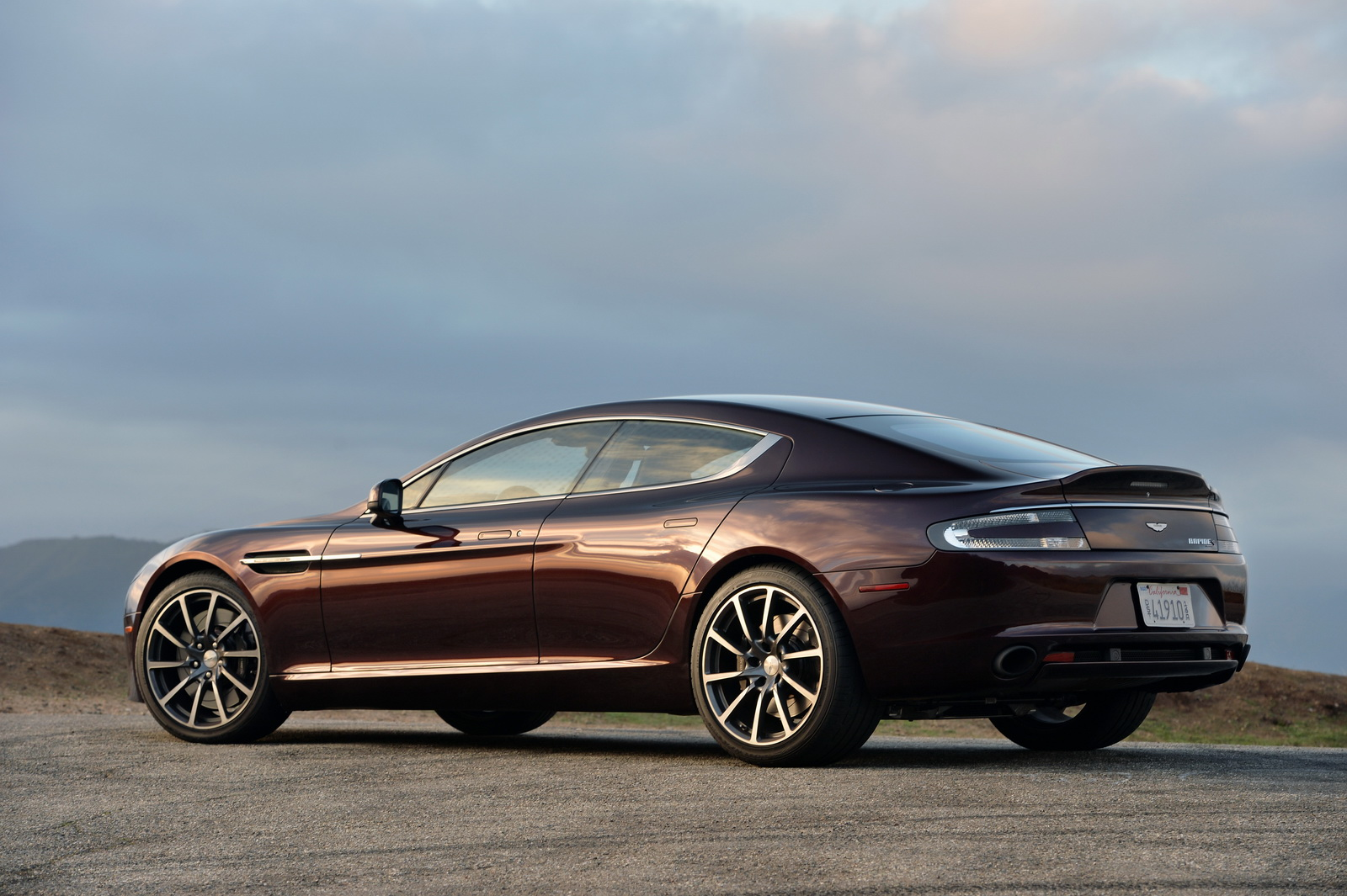 Aston Martin's Boss Confirms Electric Rapide Scheduled For