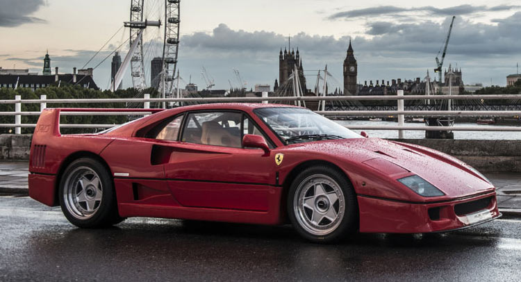Unique Ferrari F40 Fails To Sell At Auction