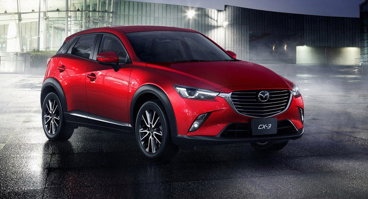 mazda begins production of the cx 3 small suv in thailand carscoops. Black Bedroom Furniture Sets. Home Design Ideas