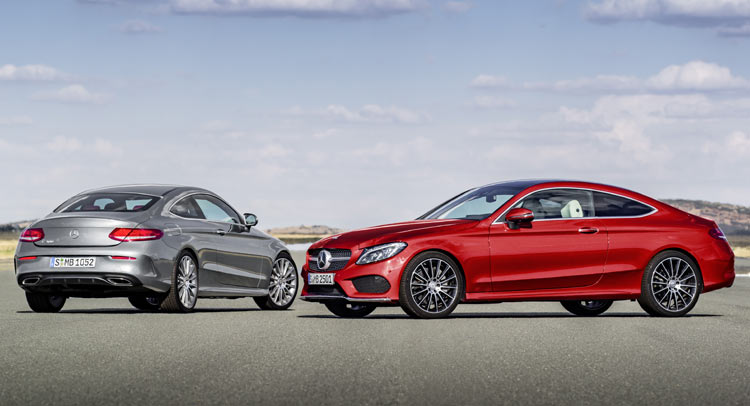 Mercedes Benz C Class Coupe Goes On Sale In Germany Priced From