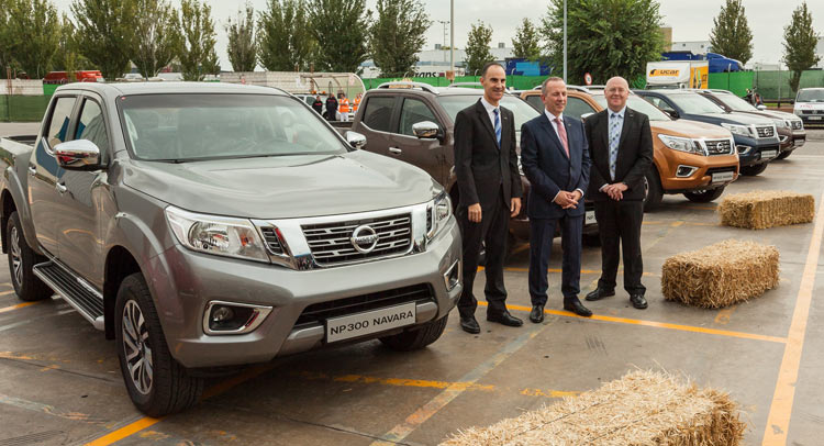 Nissan Ready To Start Production Of The Np300 Navara In Barcelona