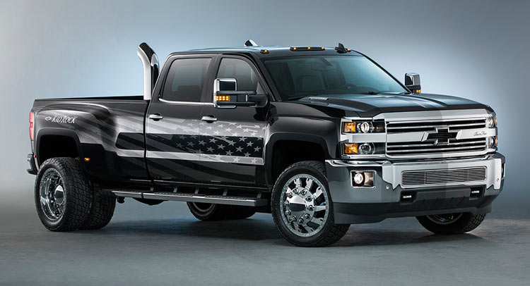 Chevy And Kid Rock Create A Silverado 3500hd For The Working Cl Guy Carscoops