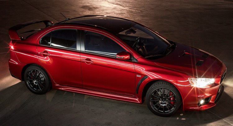 2016 Lancer Evolution >> Mitsubishi S First 2016 Lancer Evo Final Edition 0001