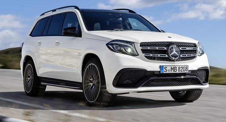 Mercedes Turns Gl Into 2017 Gls Says It S The Cl Of Suvs 26 Pics