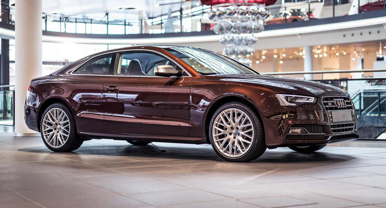 Mahogany Mica Audi S5 Shows Up At The Audi Forum Carscoops