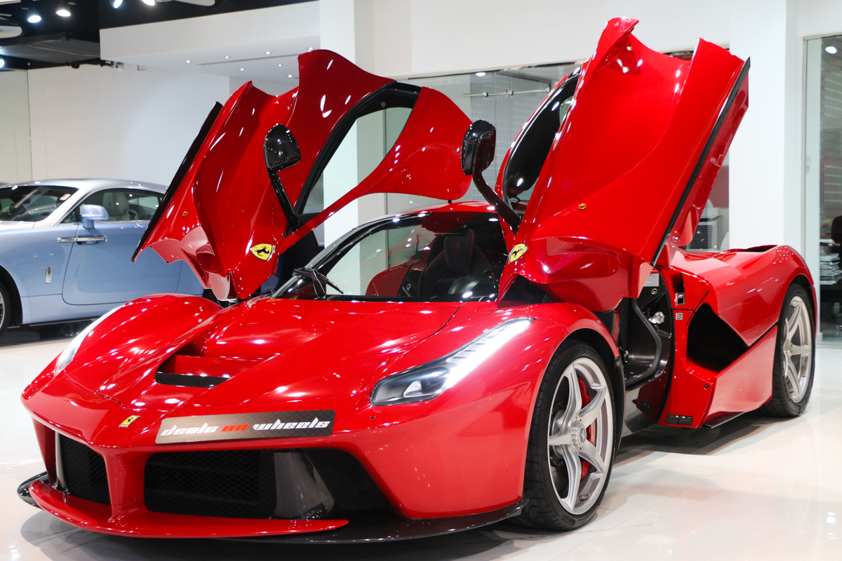 Spectacular 2014 Ferrari Laferrari For Sale In Dubai