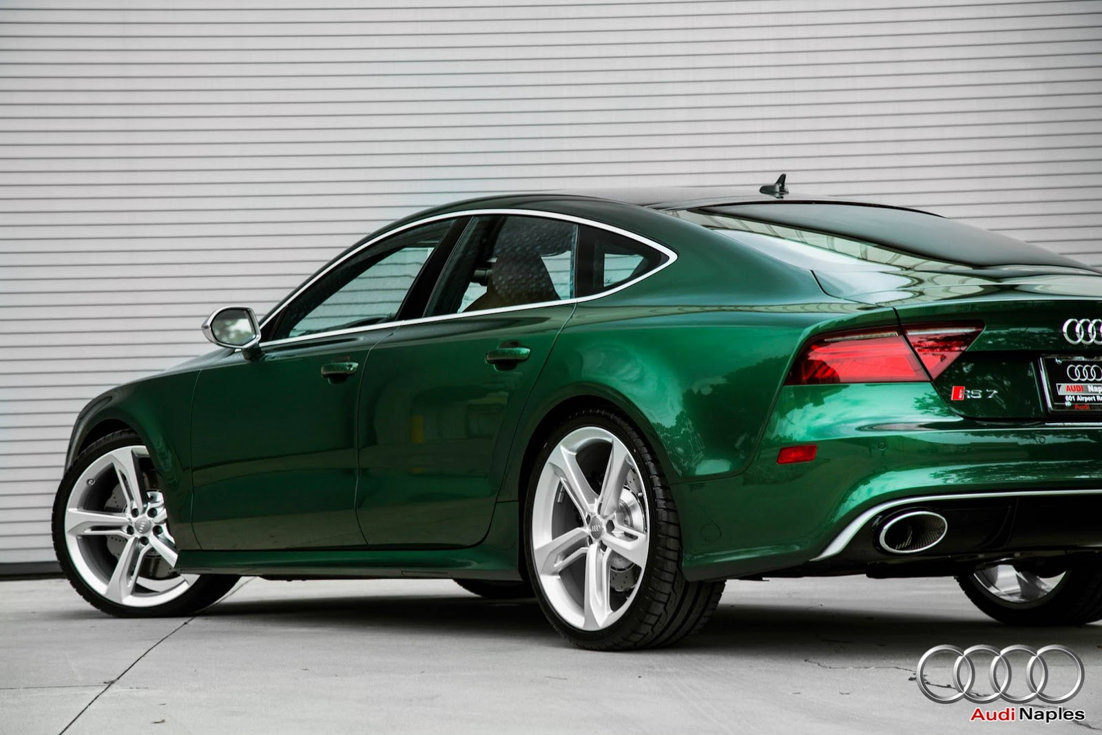 Verdant Green Audi Rs7 For Sale In Florida Carscoops