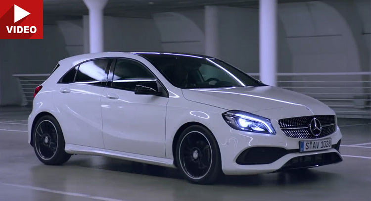 Mercedes Shows Off A200 Amg Line In Latest A Class Uk Spot Carscoops