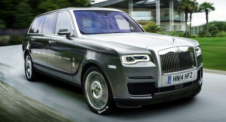 What Would You Say If Rolls Royce S Cullinan Suv Looked Like This Carscoops