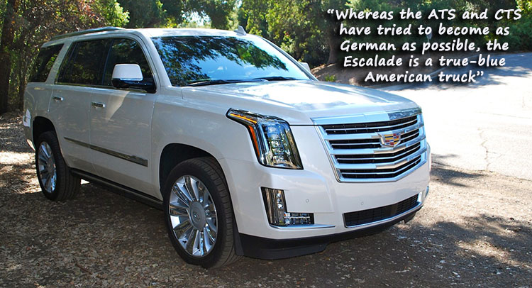 We Drive Cadillac S Escalade Platinum Continues To Carry The Luxury Banner Carscoops