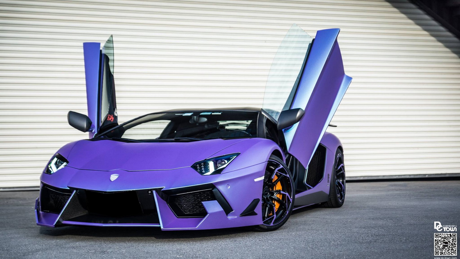 Dmc Lamborghini Aventador Is A Raging Purple Haze Carscoops