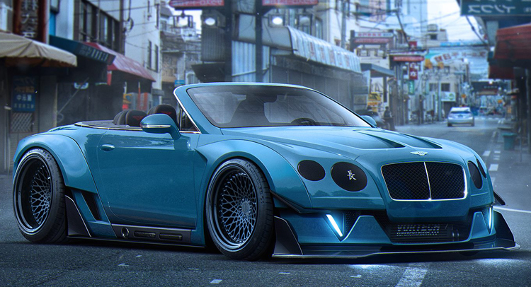 Dreaming Up A Wild Widebody Bentley Continental Gt