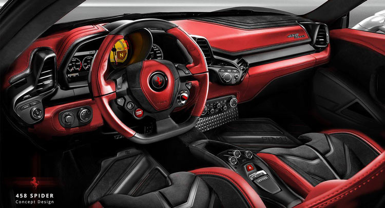 Carlex Design Ready To Mutate The Interior Of This 458 Spider ...
