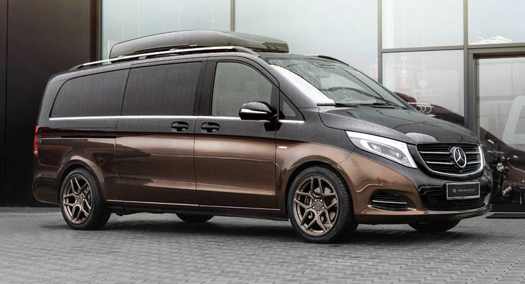 mercedes v class gets full treatment from carlex design carscoops. Black Bedroom Furniture Sets. Home Design Ideas