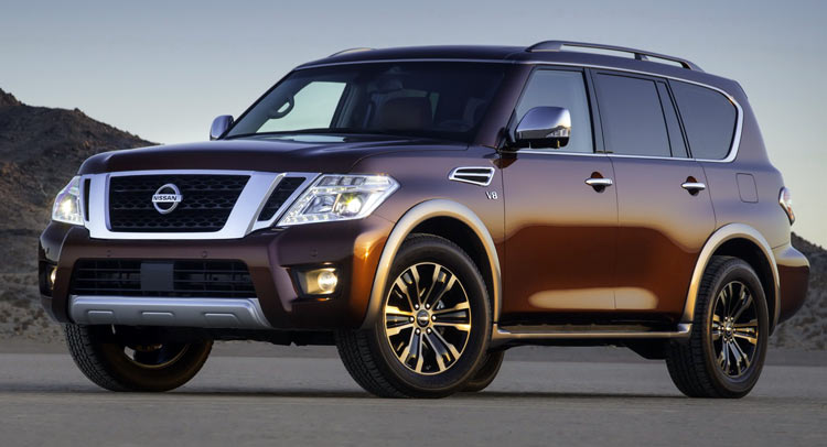2017 Nissan Armada Is North America S Patrol Or The Infiniti Qx80 S