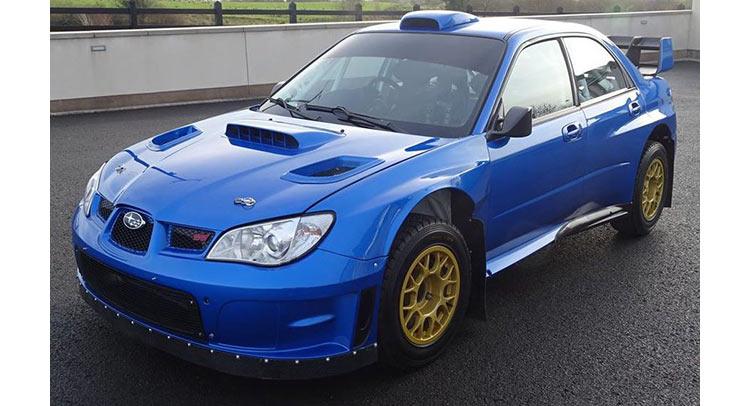 Ex Solberg Mcrae 2007 Subaru Wrx Sti Offered For Sale Carscoops