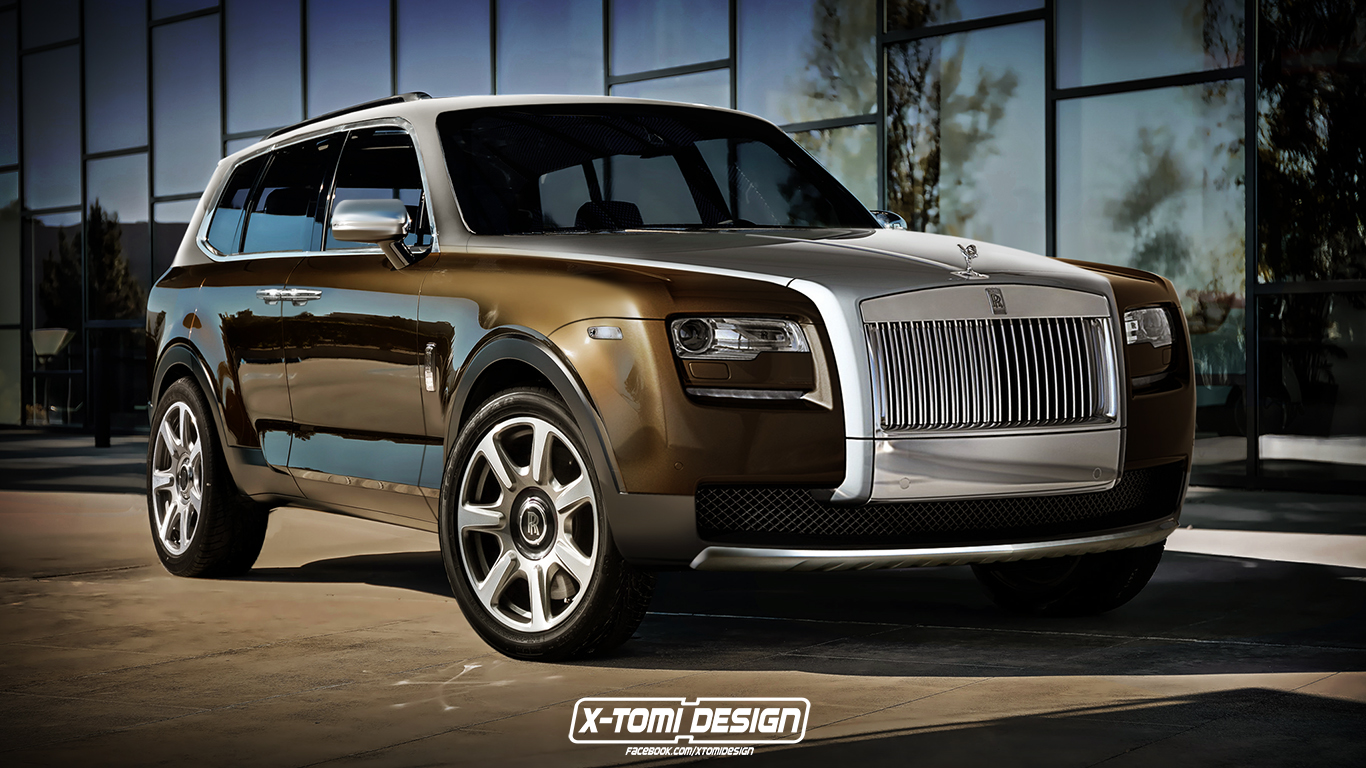 Would You Buy Rolls Royce S Cullinan Suv If It Looked Like This Carscoops