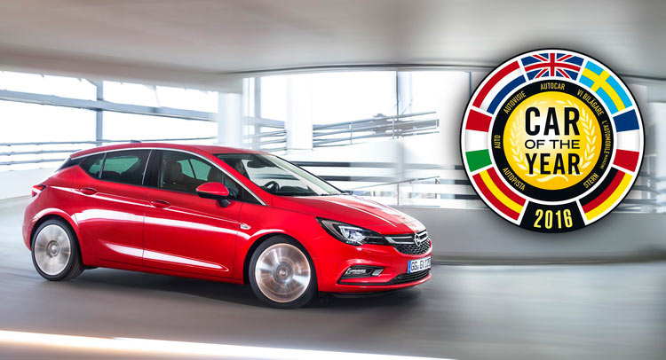 All New Opel Astra Wins Car Of The Year 2016 Award Carscoops