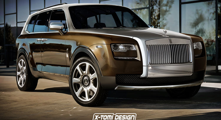Would You Rolls Royce S Cullinan Suv If It Looked Like This Carscoops