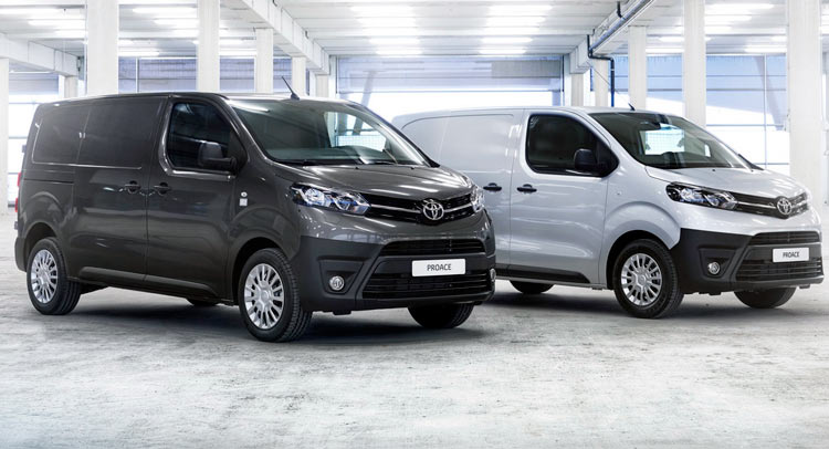Toyota Work Van >> New Toyota Proace Van Offers More Versatility Than Ever 64 Pics